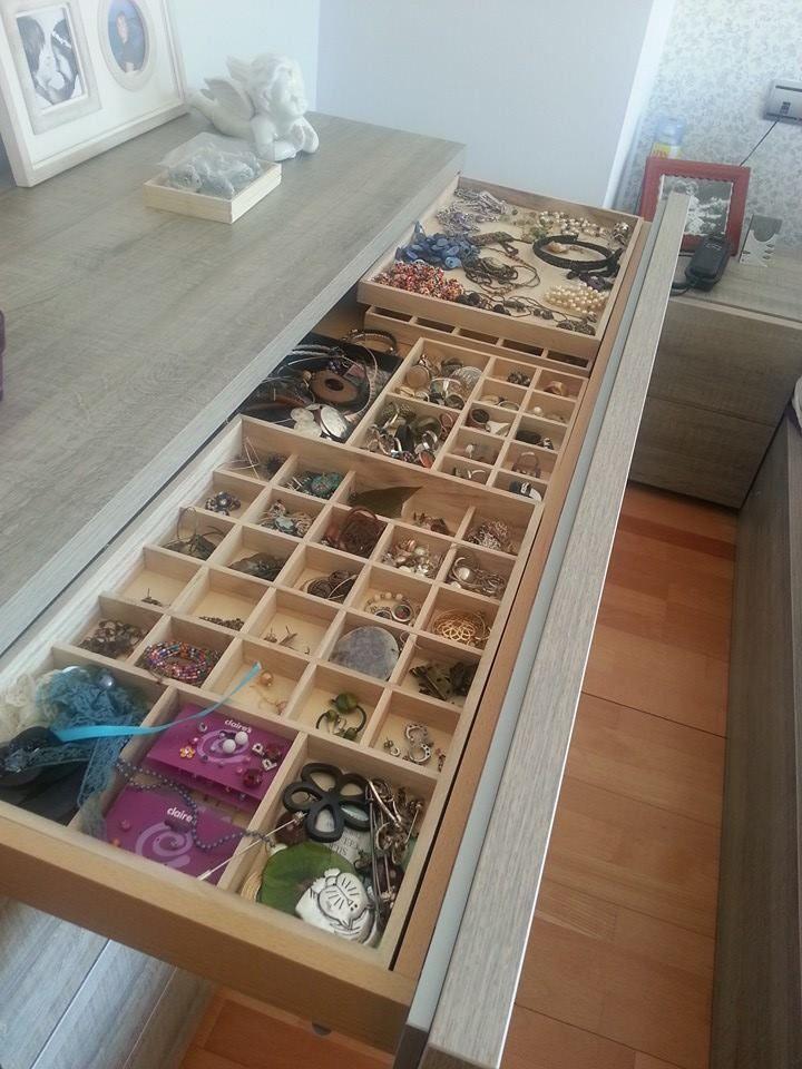 Las 25 mejores ideas sobre caj n de joyas en pinterest tocador de armario armario de joyer a - Organizadores cajones ikea ...