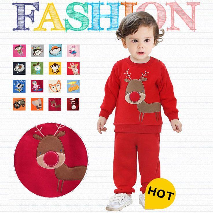 $15.65 (Buy here: https://alitems.com/g/1e8d114494ebda23ff8b16525dc3e8/?i=5&ulp=https%3A%2F%2Fwww.aliexpress.com%2Fitem%2FAutumn-Winter-2014-Boys-Girls-Children-Christmas-Clothes-Set-Kids-Fleece-Clothing-set-infantil-conjunto-de%2F2051493529.html ) Autumn Winter Boys Girls Children Sweats Clothes Set Kids Fleece Clothing set infantil conjunto de roupa menina menino for just $15.65