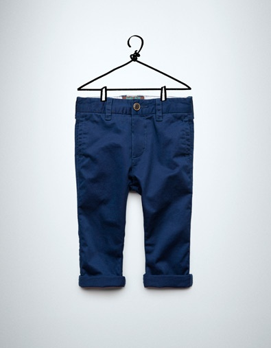 chino style trousers - Trousers - Baby boy (3-36 months) - Kids - ZARA Canada