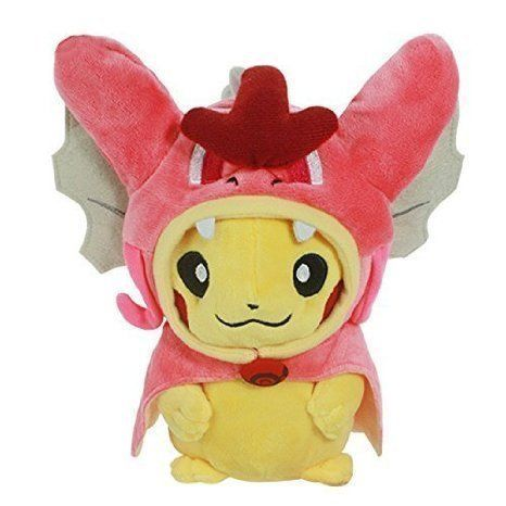 Generic Pikachu with Shiny Gyarados Cape Cosplay Magikarp Pokemon Soft Plush Toy// buy now $9.90 Pikachu is an Electric-type Pokémon introduced in Generation I. Pikachu is famous for being the most well-known and recognizable Pokémon. Over the years, Pikachu has become so popular that it serves as the Pokémon franchise mascot. It is the Version Mascot for the game Pokémon Yellow. It is also well known from …