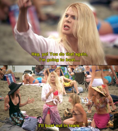 Hahaha! White Chicks, always good for a few laughs