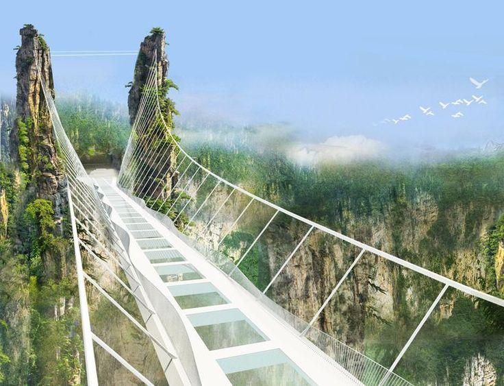 Très 25+ melhores ideias de Zhangjiajie no Pinterest | Montanha tianmen  VE74