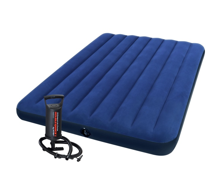 25$ WELL worth a good night sleep    Intex Full Downy Airbed with Mini Hand Pump, Camping | Walmart Canada Online Shopping