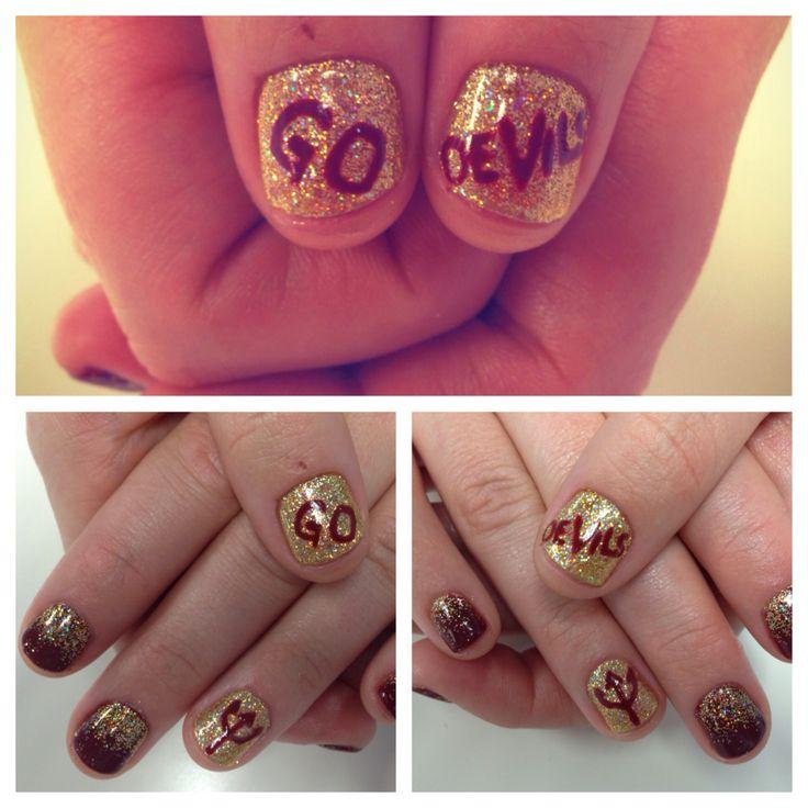 7 best asu nail art sun devil nail wraps designs images on nails by debbie at savante salon gilbert arizona nailart asu sundevils prinsesfo Choice Image