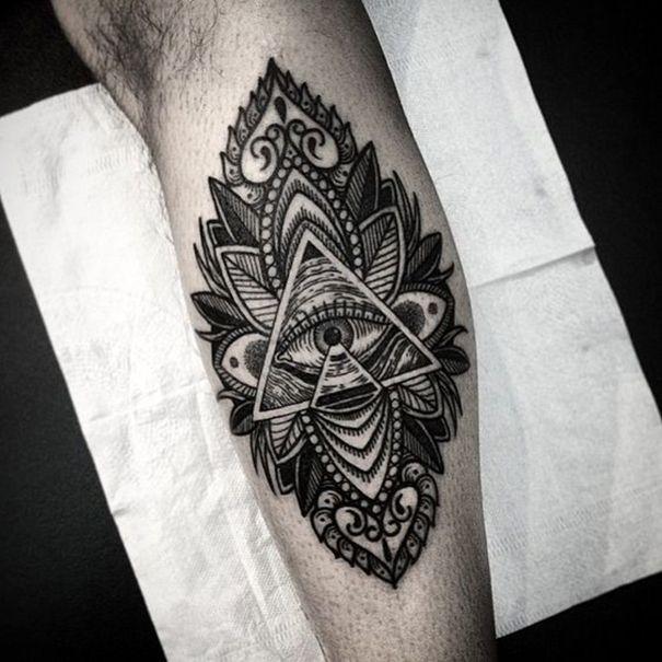 60 Mysterious Illuminati Tattoo Designs