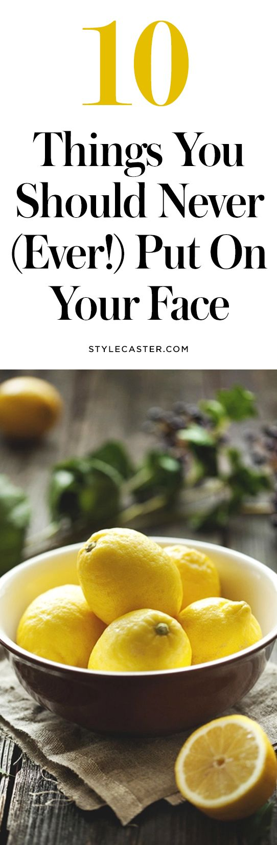 bad diy skin care 9 DIY Skin Care Ingredients That are Bad for Your Skin