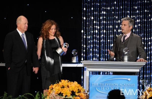 Billy Shore, Susie Fogelson, and Dan Cutforth at the Sixth Television Academy Honors.