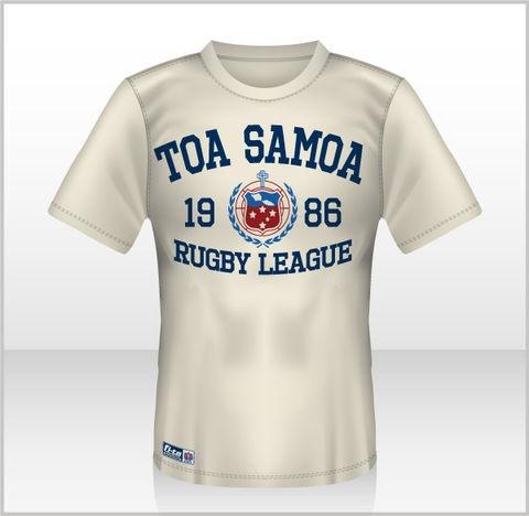 Toa Samoa T-Shirt (White)