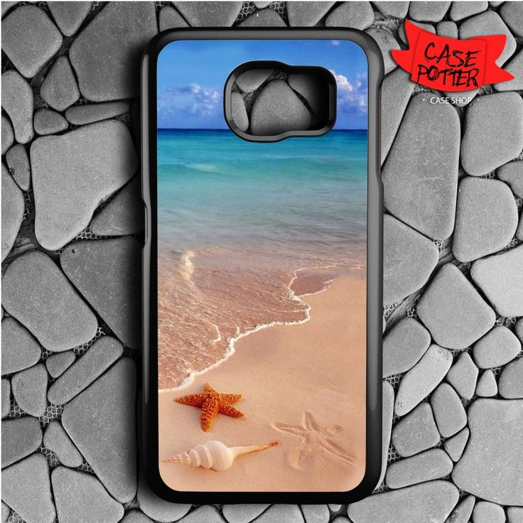 Beach Samsung Galaxy S7 Black Case