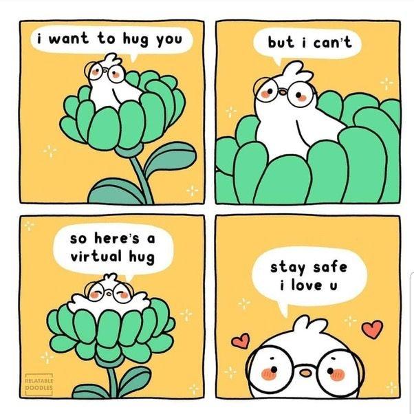 Pin by Rashmi on Friends in 2020 | Virtual hug, Hug ...