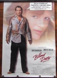 Blind Date,Movie Poster,Comedy,Bruce Willis,Kim Basinger,'87Blind Date,Movie Poster,Comedy,Bruce Willis,Kim Basinger,'87  £15.00