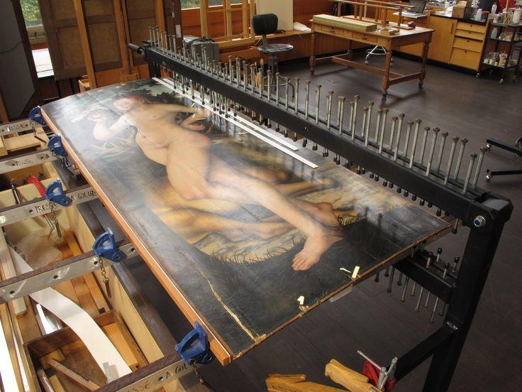 MRBAB & IRPA, table à coller, Eve, Cranach
