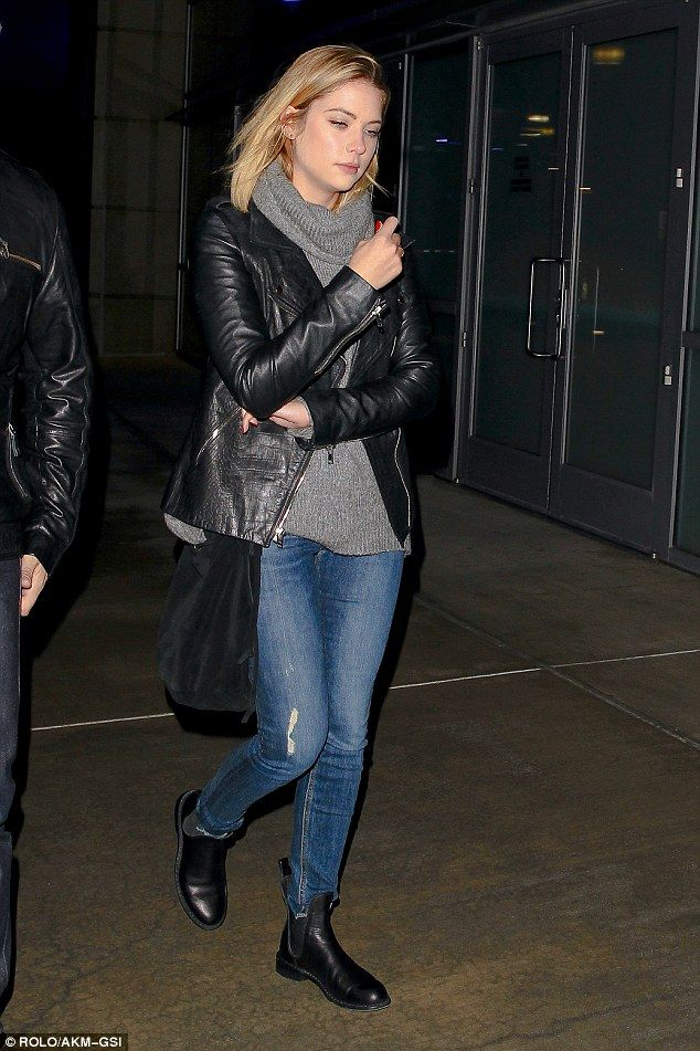 Ashley Benson Los Angeles Lakers Game December 28 2014 | Star Style - Celebrity Fashion