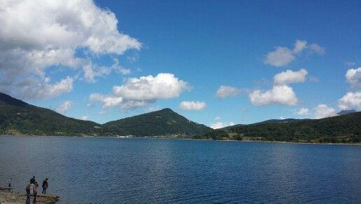 Lago di Campotosto agosto 2015