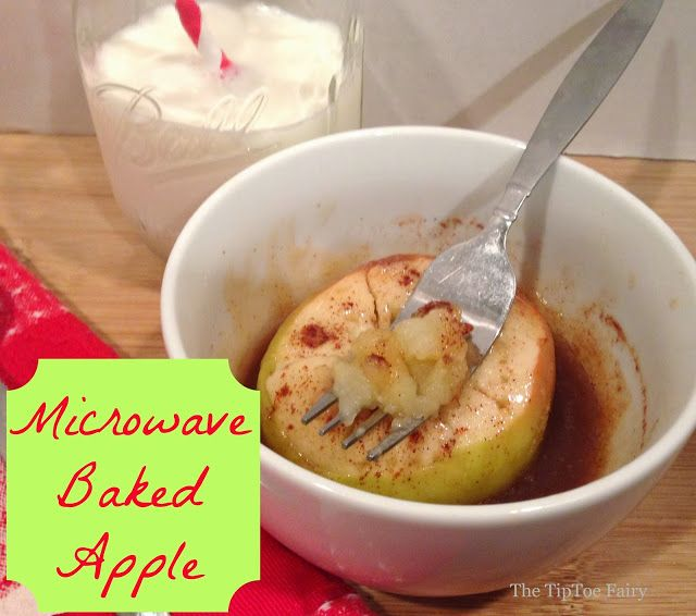 ... on Pinterest   Baked apples, Apple desserts and Microwave apples