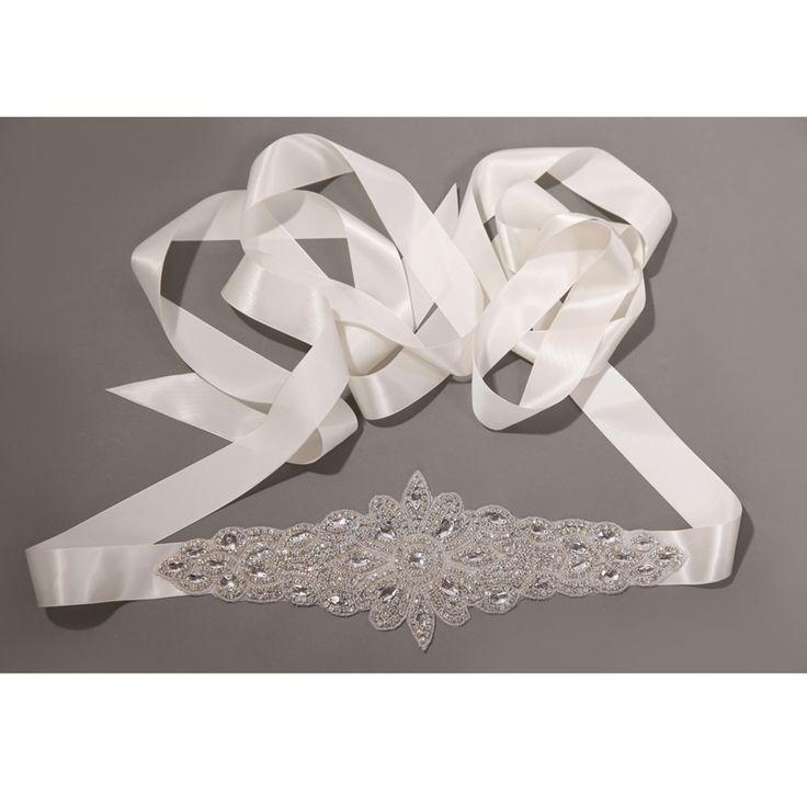 Frete grátis mulheres acessório vestido de noiva Sashs strass pérolas de cristal brilhante checa pedras casamento cinto vestido 99 # em Cintos e Faixas de Roupas e Acessórios no AliExpress.com | Alibaba Group