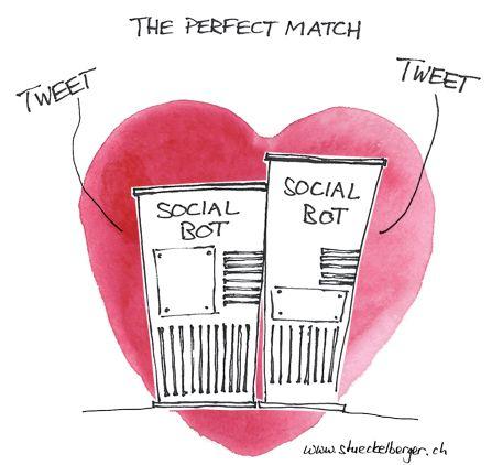 Socialbots in love
