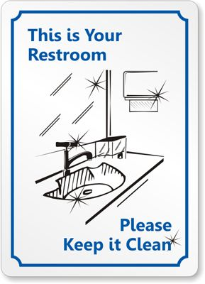 Bathroom Etiquette Signs Funny 34 best house rules images on pinterest | house rules, bathroom