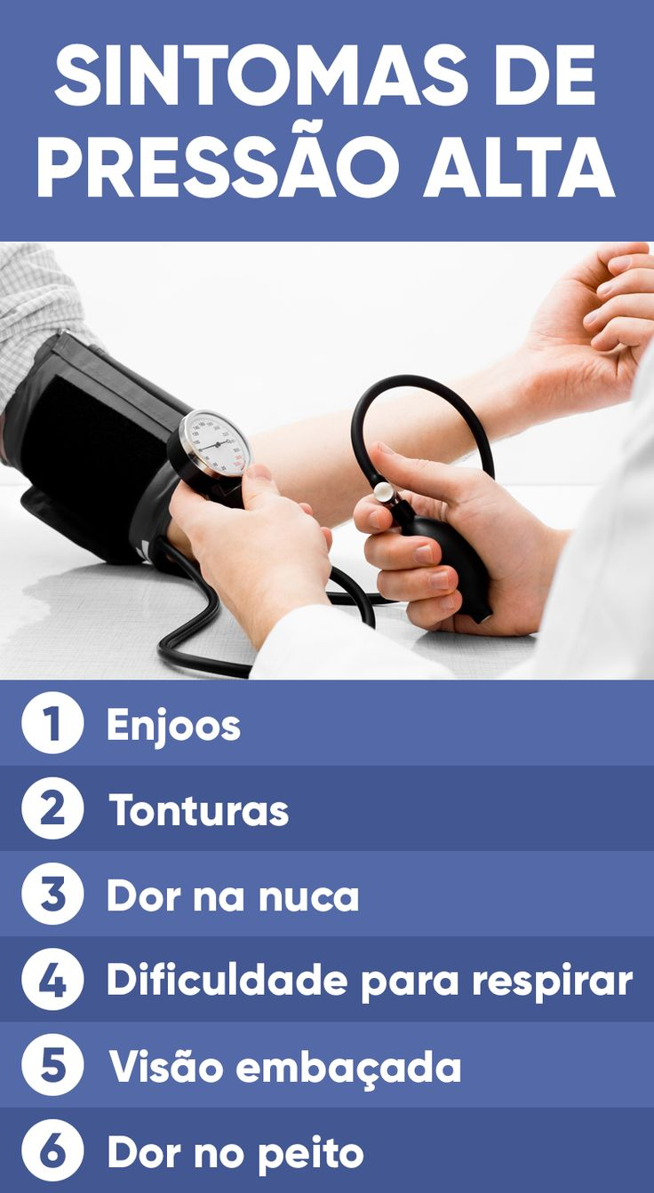 A pressão alta, também chamada de hipertensão arterial, é caracterizada pela pressão acima de 14 por 9 (140 X 90 mmHg). É uma doença crônica que não tem cura e, quando não é devidamente tratada, pode aumentar o risco de desenvolve problemas de saúde graves, como infarto, derrame ou comprometimento renal.