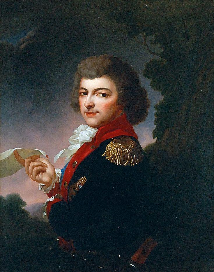 135 | Józef GRASSI (1757-1838), Portret Michała Kleofasa Ogińskiego | 245 Aukcja Dzieł Sztuki i Antyków