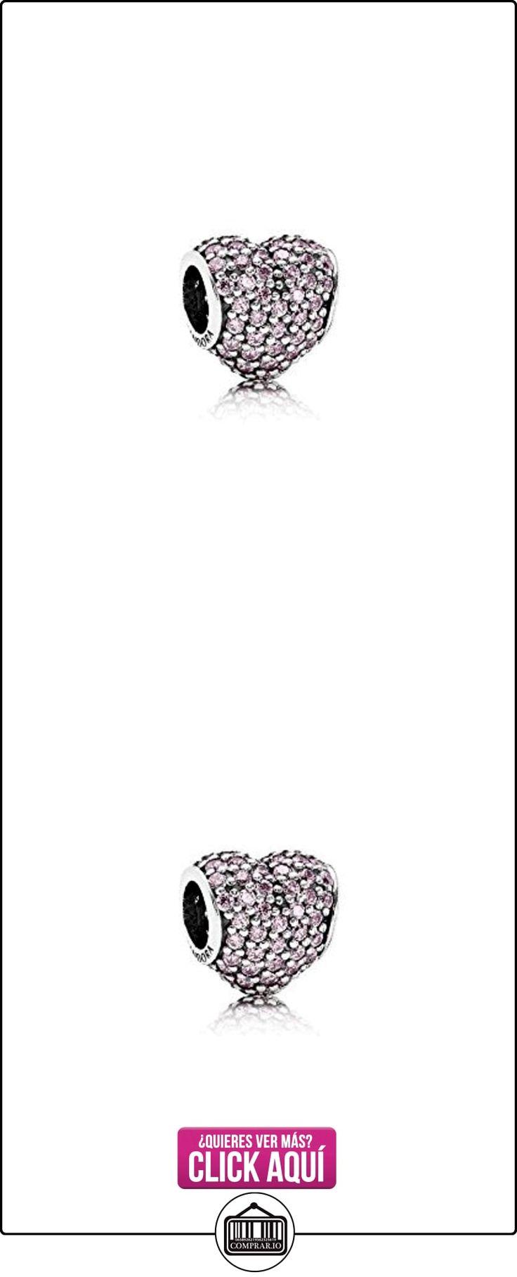 PANDORA - PANDORA encanto del corazón de color rosa 791052PCZ pad  ✿ Joyas para niñas - Regalos ✿ ▬► Ver oferta: https://comprar.io/goto/B01FZH2014