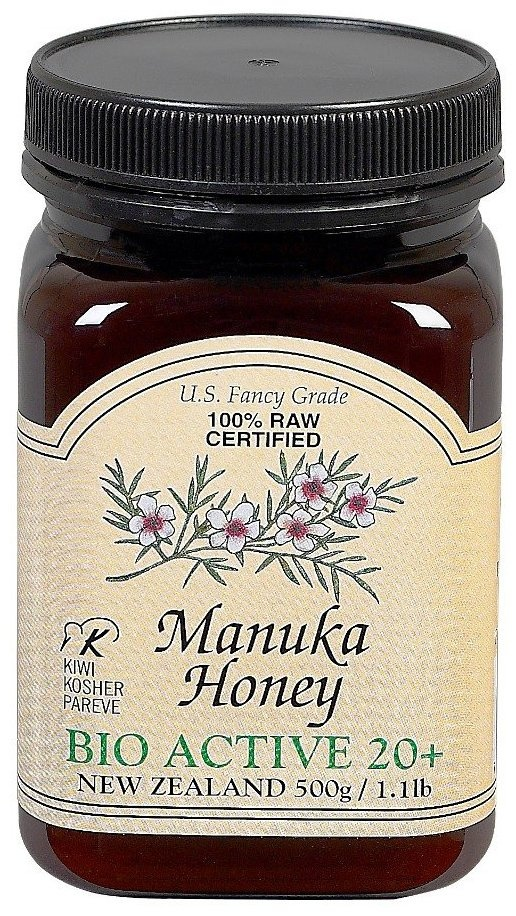 Manuka Honey.... 1 tsp in hot water w/ lemon and you'll get an awesome dose of healing properties including anti-fungal, anti-bacterial, anti-inflammatory, digestive, skin etc...