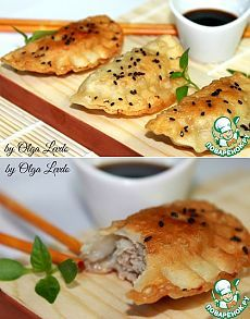 Китайские жареные пельмени - кулинарный рецепт