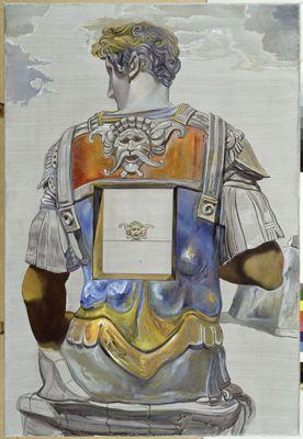 Senza titolo. Giuliano de' Medici dalla tomba di Giuliano de' Medici di Michelangelo