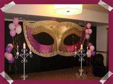 What a perfect backdrop for a Prom, Masquerade Party, you name it says Sherwood Event Hall! #masquerade #backdrop #sweet16 #prom #quinceanera #barmitzvah #birthdayparty #atlanta #eventstyling #eventcompany #sherwoodeventhall #eventsbygia #entertaining #atlantavenues #entertainment #partyideas