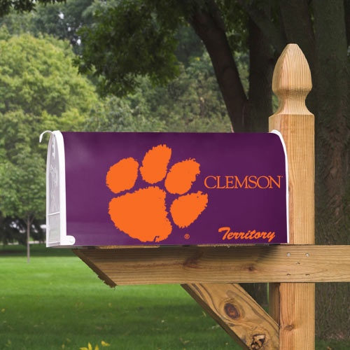 Clemson Tigers Logo Mailbox Cover Clemson Tigers