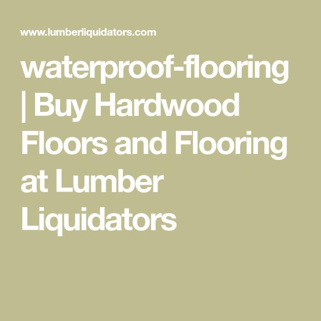 Home Decor Liquidators Pittsburgh: Best 25+ Waterproof Flooring Ideas On Pinterest