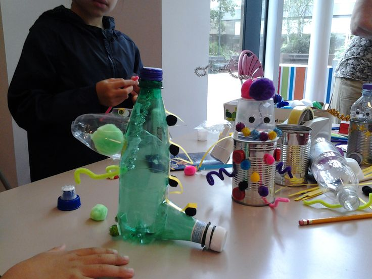 Wonderful collection of Robots from our craft afternoon.