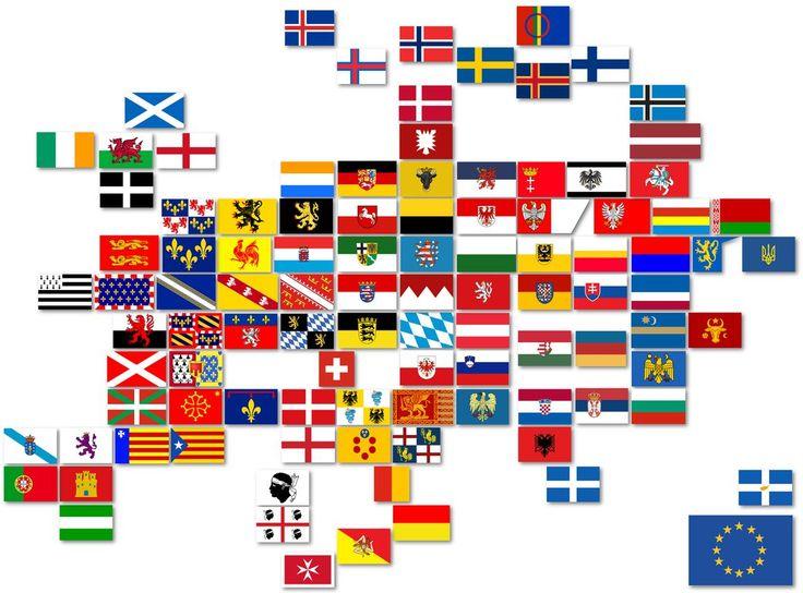 флаги всех европейских государств в картинках это холодное