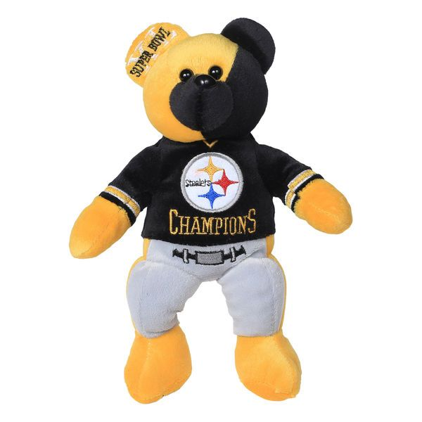 Pittsburgh Steelers Super Bowl XL Champions Thematic Bear - $16.99