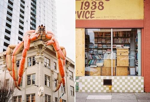 Lobster eats building!?