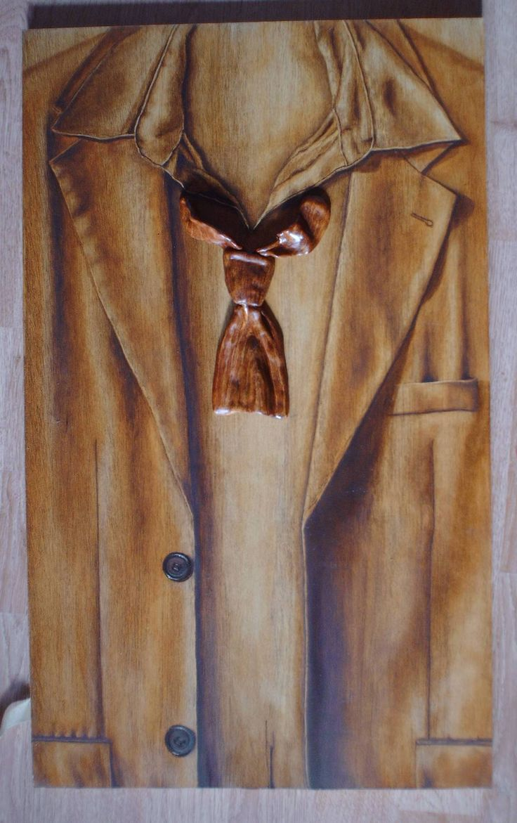 Jacket and a tie, oil and ceramics. Webshop - fredrikalinse.se