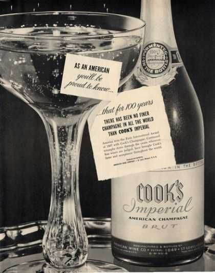 champagne champagne bottles twelfth night 1950 cook forward cook