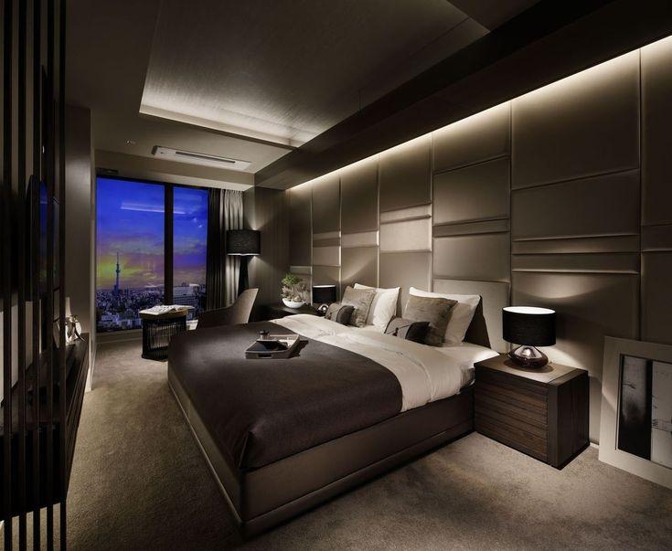 Шикарные спальни фото дизайн в современном стиле