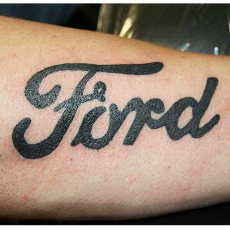 Miłość do Forda można wyrażać na różne sposoby :)