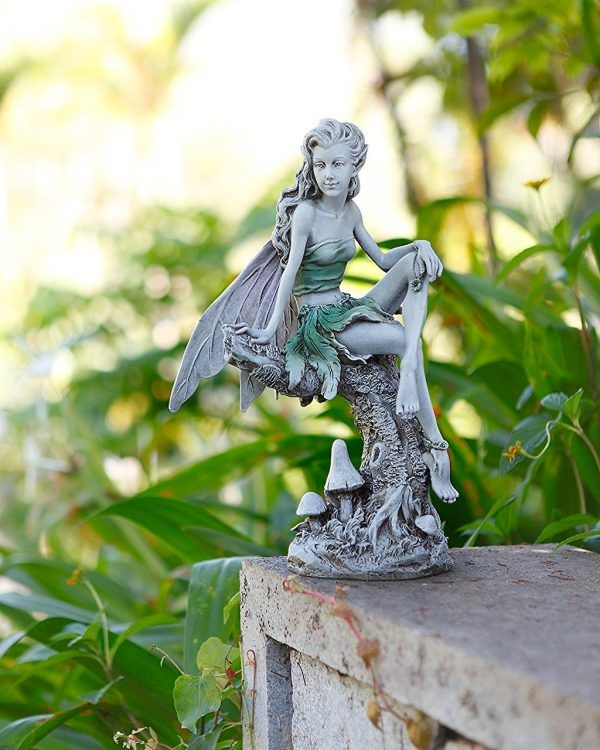 40 Stunningly Beautiful Statues Of Fairies And Angels For 400 x 300