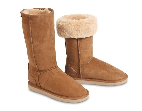CHIC EMPIRE - Classic tall sheepskin boots. Tall ugg boots. Made in Melbourne, Australia.