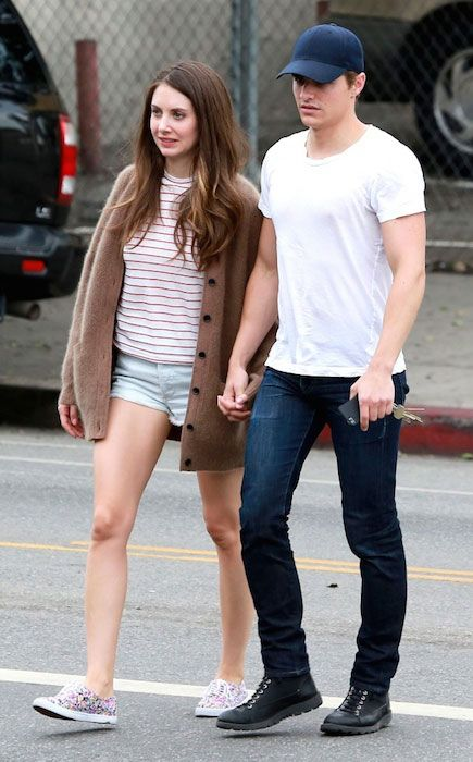 The love birds, Dave Franco and Alison Brie. they are dating since summer of 2012...