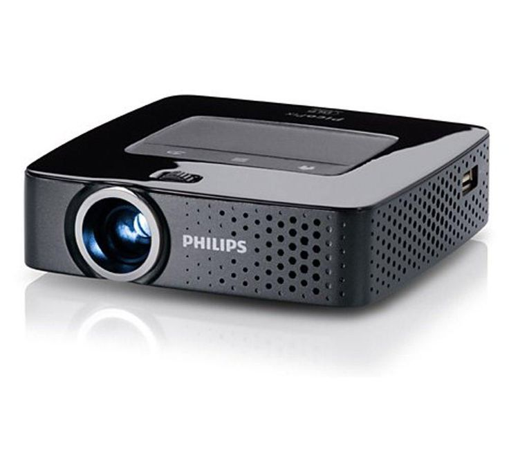 PHILIPS  PicoPix PPX3614 Portable Projector Price: £ 339.99 You'll be able to project photos, videos and presentations wherever you go with the Philips PicoPix PPX3614 Portable Projector . Well connected With a WiFi connection and an integrated Android web browser, you'll be able to view content on the PicoPix PPX3614 with ease. There'll be no need to connect a smartphone or laptop, so you'll...