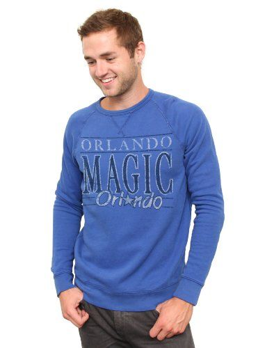 NBA Orlando Magic Mens Vintage Solid Long Sleeve Fleece Shirt Liberty Medium >>> Check out the image by visiting the link.