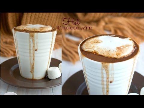 Homemade Hot Chocolate Recipe (With Video) | Nish Kitchen