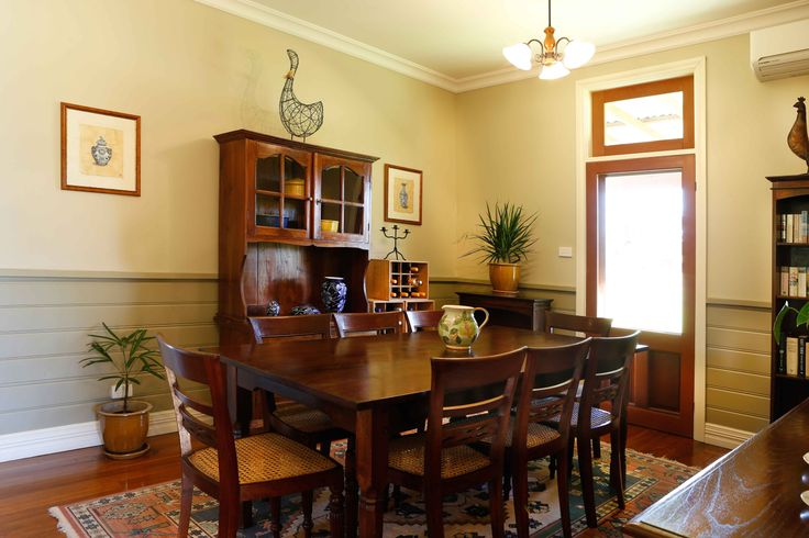 The Dining Room if you decide to cook is just gorgeous. Sure you could enjoy a cup of tea here in the morning.