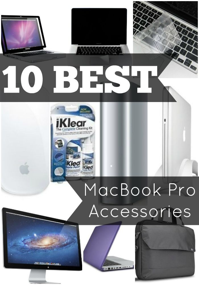 best macbook pro accessories