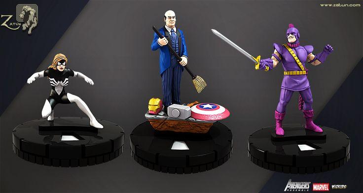 Follow Avenger Characters, Zatun Game Studio on ArtStation at https://www.artstation.com/artwork/8nkPx