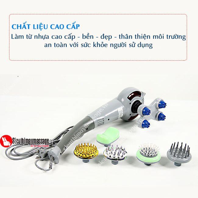 Sieuthimaymassagechinhhang.tin.vn xin giới thiệu các bạn dòng máy mát xa cầm tay 7 đầu King Massager thương hiệu Magic với xuất xứ Hàn Quốc, đảm bảo chất lượng, đặc biệt giá lại rẻ vừa túi tiền của bạn, rất được ưa chuộng hiện nay