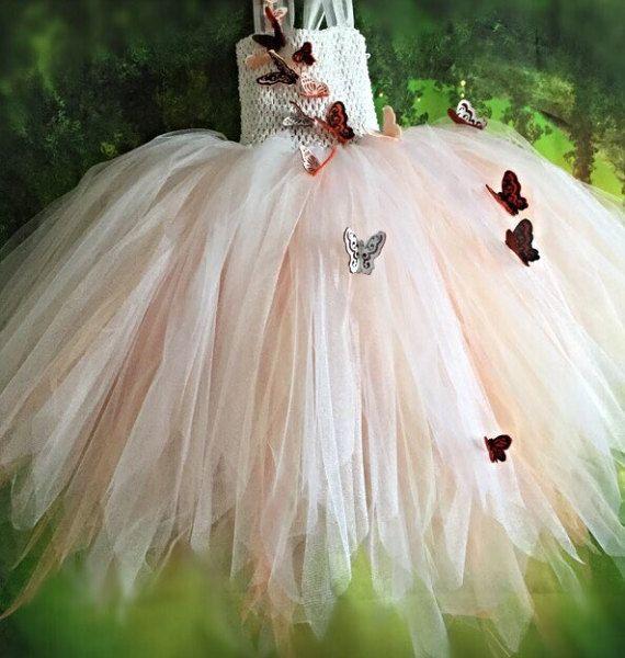 Custom made FLOWERGIRL dress FAIRY dress by TheLittleLilacFaerie
